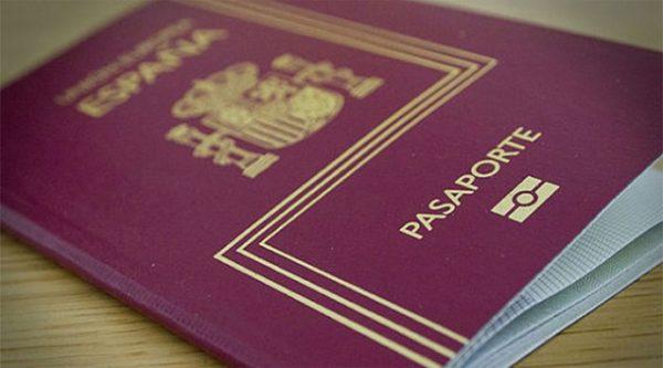 Как выглядит паспорт Испании