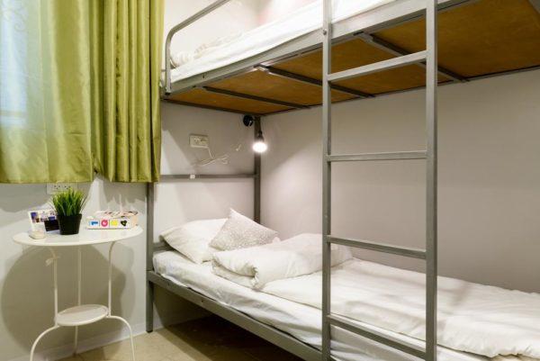 Спальня в хостеле, Тель-Авив