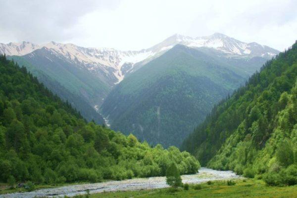 Ландшафты Южной Осетии