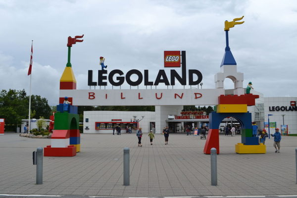 Леголенд в Дании, вход