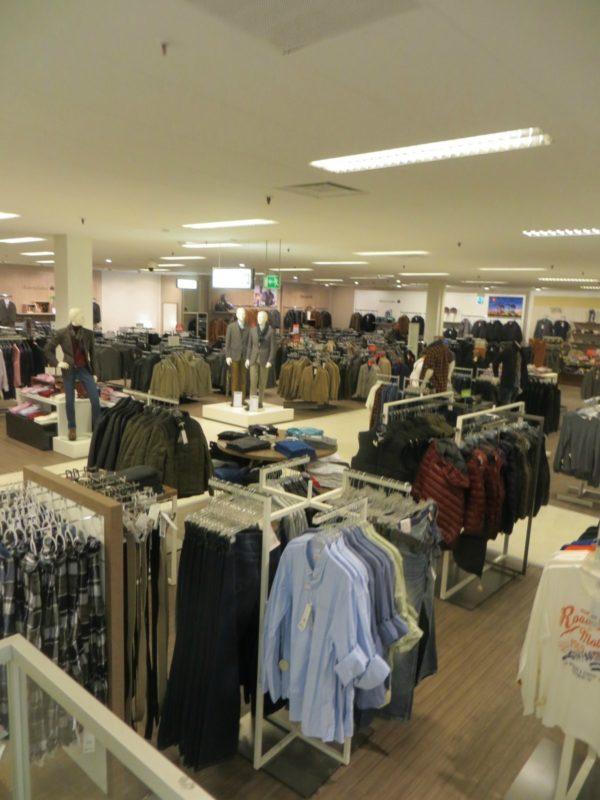 Магазин одежды в Германии