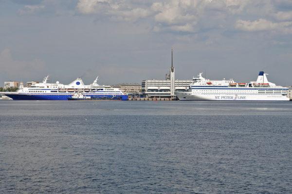 Морской Вокзал на Васильевском острове