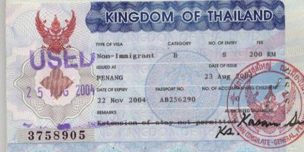 Non-immigrant B (рабочая виза)