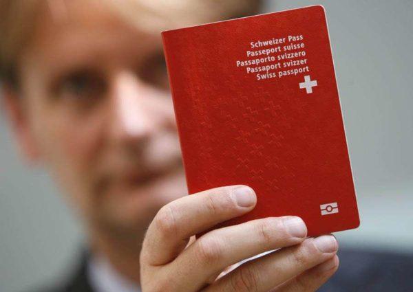 Паспорт гражданина Швейцарии