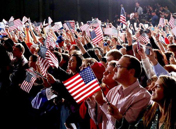 Патриотизм - национальная черта американцев
