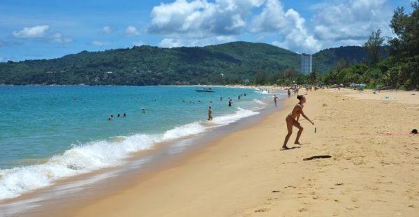 Пляж Карон. Таиланд