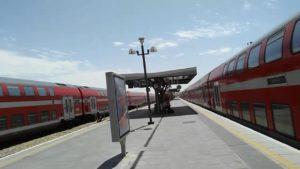 Поезд в Израиле