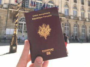 После этого остается лишь получить французское гражданство