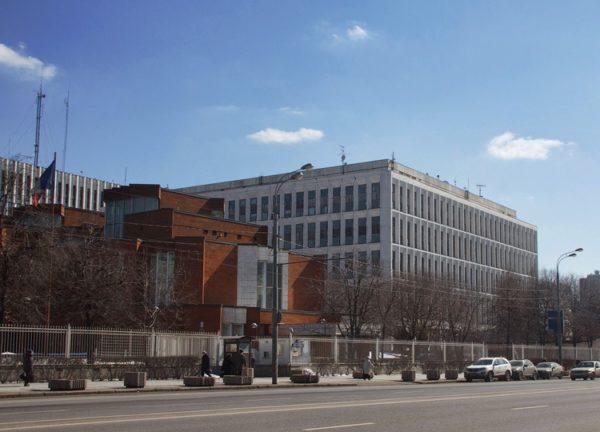 Посольство Франции в Москве (Б. Якиманка, 45)