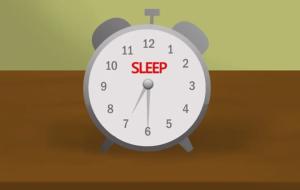 Постарайтесь выспаться перед днем фотографирования