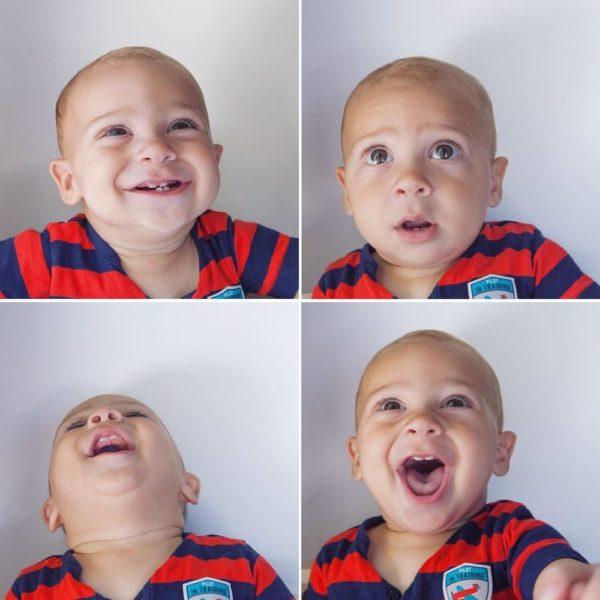Ребенок на фото не должен плакать или смеяться