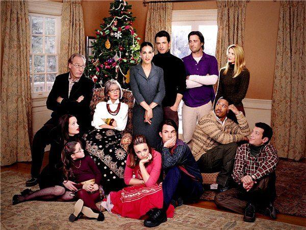 Рождественское семейное фото. Традиционно Рождество отмечают с родственниками