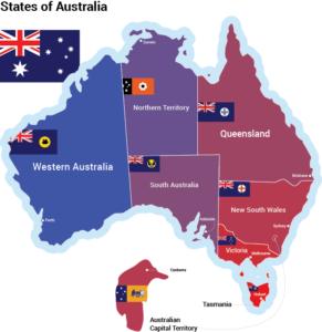 Штаты Австралии