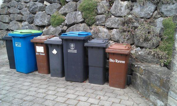 Сортировка мусора в Германии