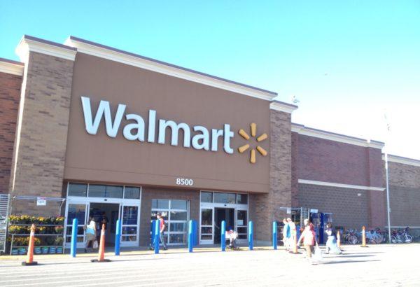 Супермаркет Wal-mart в США