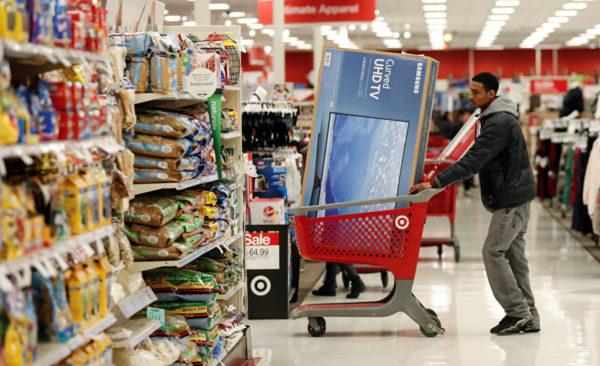 Супермаркет в Чикаго, штат Иллинойс, США