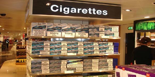 Табачные изделия лучше приобретать в Дьюти-фри