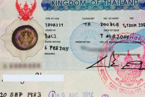 Туристическая виза типа ТР