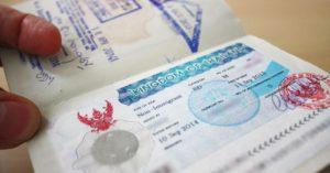 Туристическая виза в Таиланд для россиян