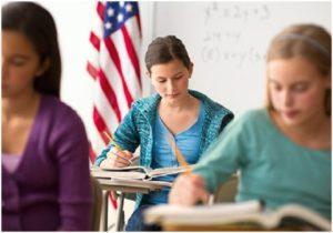 В Америке было создано большое количество русских учебных заведений, а именно школ продленного дня
