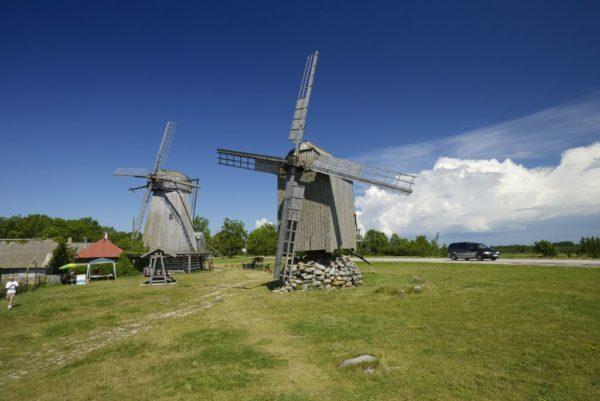 Ветряные мельницы на острове Сааремаа