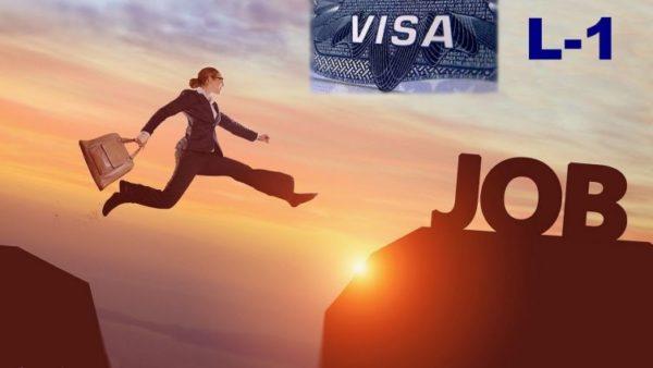 Виза L1 выдается менеджерам высшего звена зарубежных компаний, которые открывают представительство в США