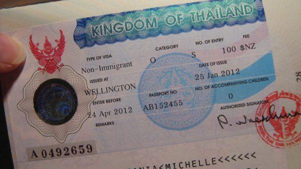 Виза в Таиланд для белорусов