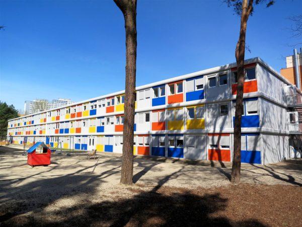 Жилые помещения для беженцев, Германия