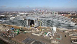 Здесь же расположилась главная квартира НАТО