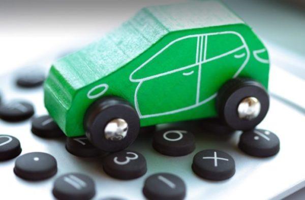 Зеленая карта на автомобиль