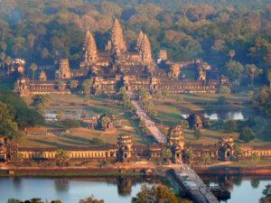 Ангкор-Ват - храм Вишну в Камбодже