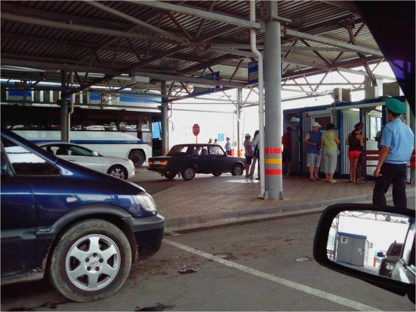 Автомобильная граница Абхазии