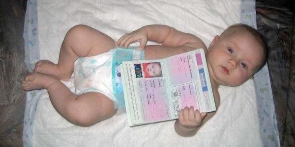 Для детей оформляют собственные загранпаспорта
