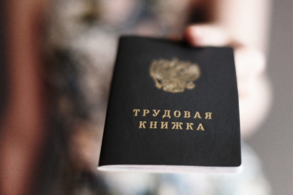Для оформления рабочей визы необходимо предоставить оригинал и копии трудовой книжки