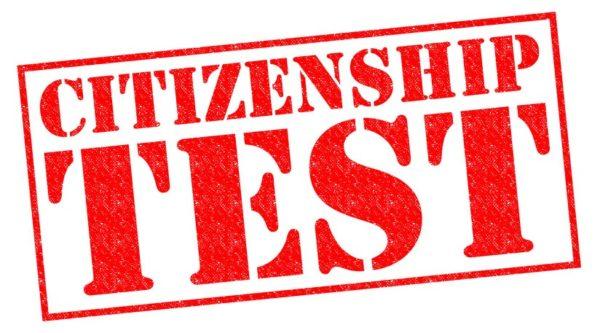 Для того, чтобы успешно пройти Citizenship Test, необходимо набрать 60% правильных ответов