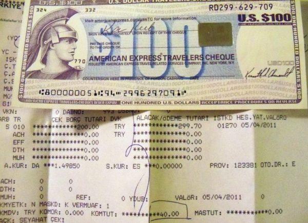 Дорожные чеки в Тайланде