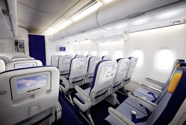Эконом класс авиакомпании Deutsche Lufthansa