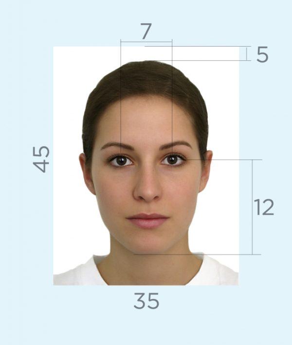 Фотография на паспорт гражданина РФ