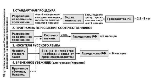 Как получить гражданство России. Процедура оформления гражданства РФ