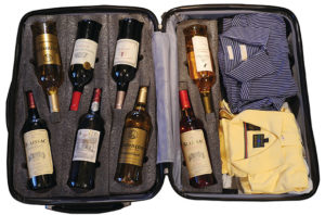 Как провозить алкоголь в самолете