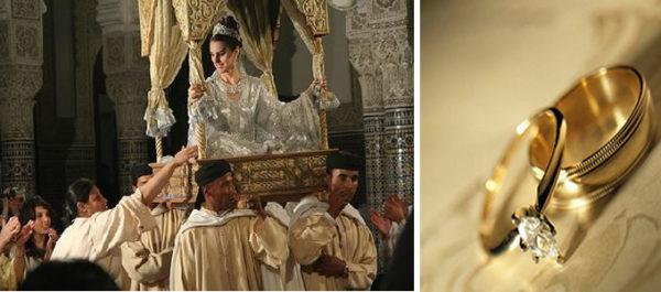 Красочная и экзотическая свадьба в Марокко