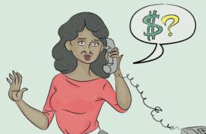 Не следует указывать любую конфиденциальную личную или финансовую информацию в интернете или по телефону, особенно если вас попросят сделать это в качестве части процесса подачи заявки на работу