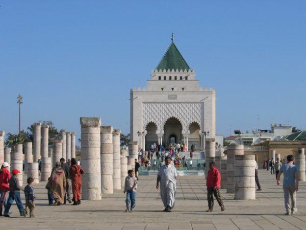 Мавзолей Мухаммеда V в Рабате