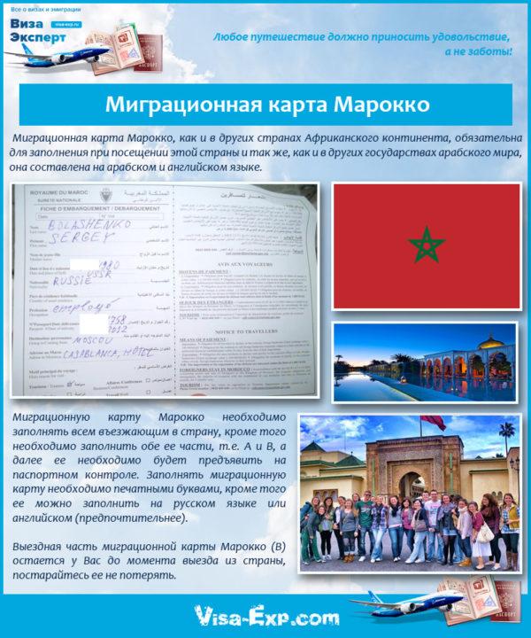 Изображение - Виза в марокко migratsionnaya-karta-marokko-600x720