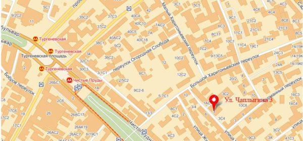 Московское Посольство Латвии на карте