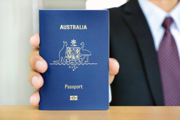 Паспорт гражданина Австралии