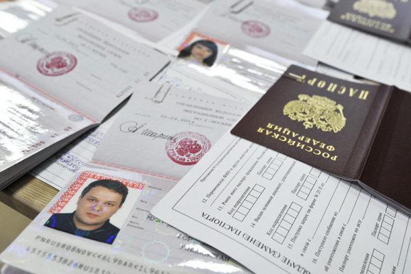Паспорт можно получитьпо упрощенной схеме