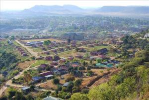 Пейзаж Лесото