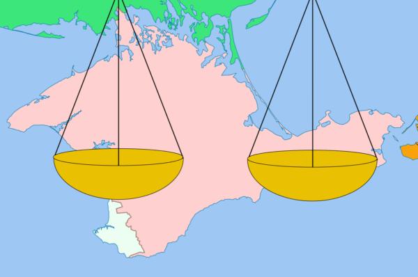 Правовой статус Крыма - объект горячих споров