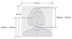 Размер фото на визу в США